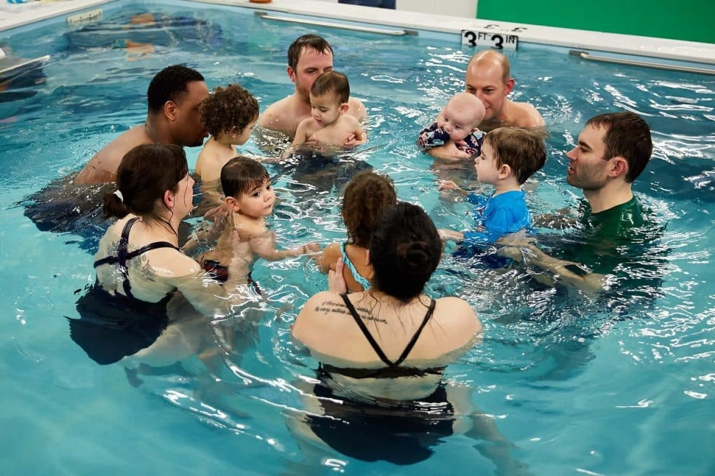 Baby And Me Swim Classes In South Brunswick Into The Swim Inc